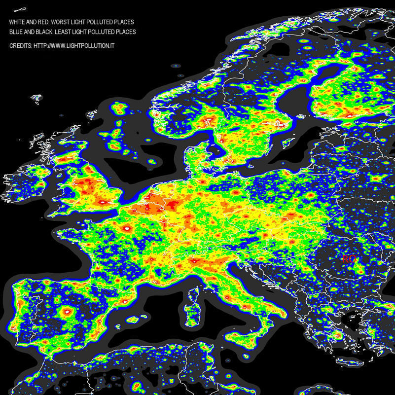 http://www.astro-travels.com/pictures/Europe-Light-Pollution.jpg