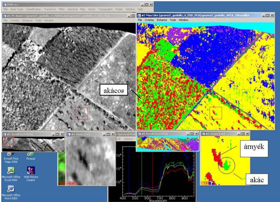 Hiperspektrális méréstechnika alkalmazása a földhasználat ábrázolására