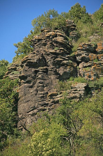 vulkanikus kőzet