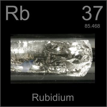 rubídium