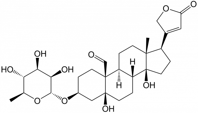 http://en.wikipedia.org/wiki/File:Convallatoxin.png