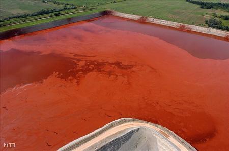 Red mud pond