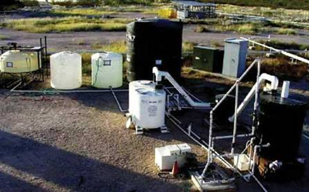 Demonstration experiment in  Arisona