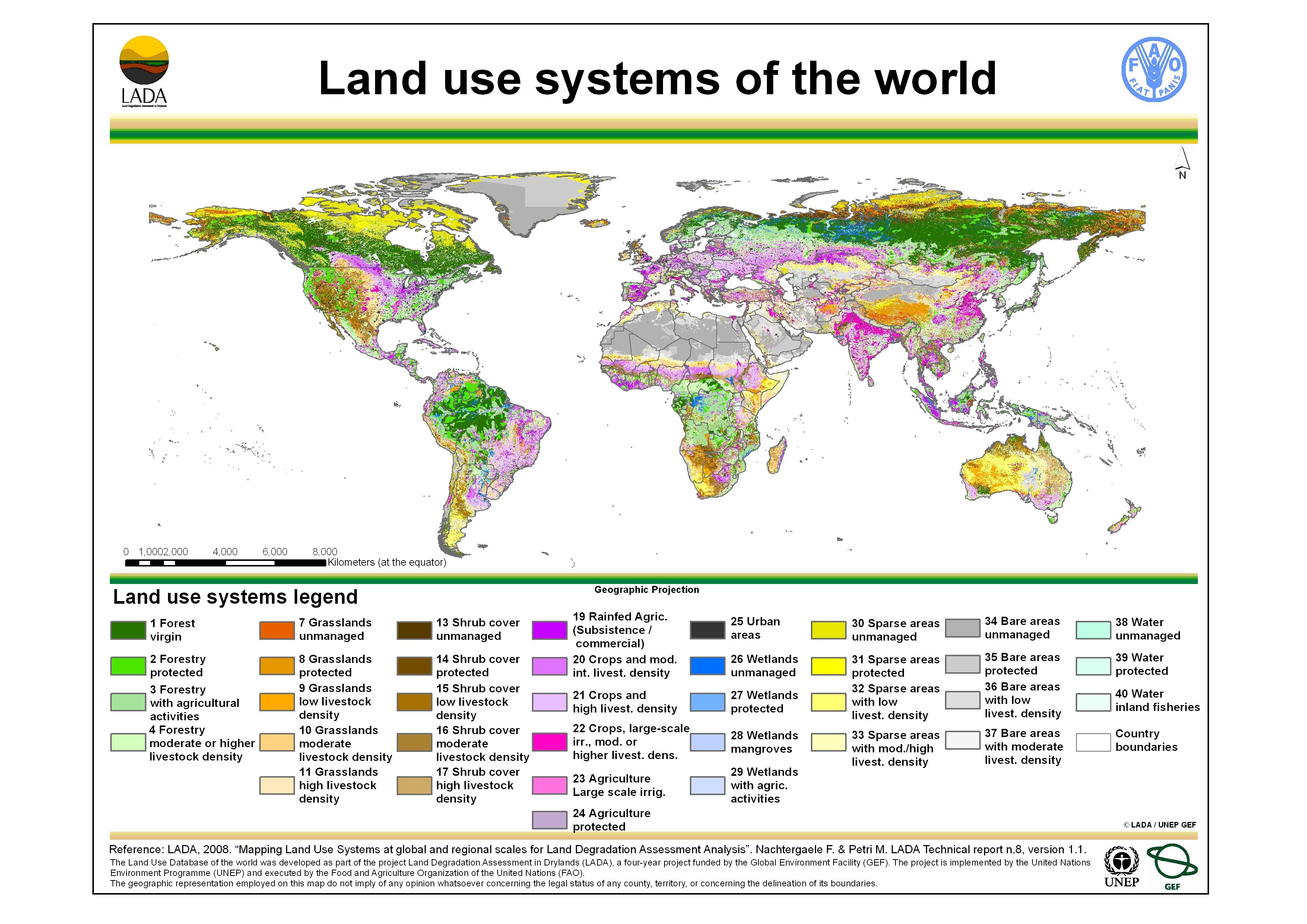 Földi területhsználatok